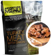 jídlo Adventure Menu - krůtí na cibulce, 200 g, 100% maso, samoohřev
