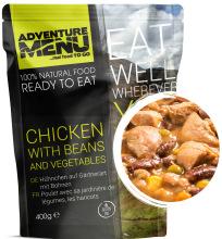 jídlo Adventure Menu - kuře po zahradnicku s fazolemi, 400 g, samoohřev