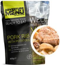 jídlo Adventure Menu - vepřové žebírko s bramborem, 400 g, samoohřev