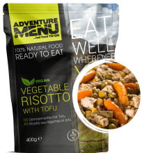 jídlo Adventure Menu - zeleninové rizoto s Tofu, 400 g, samoohřev