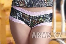 kalhotky Wilderness - Mossy Pink Lace Boy Short (602231), vel. XXL
