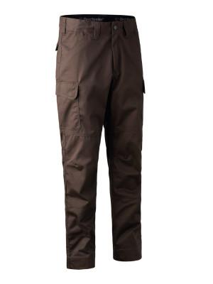 kalhoty DEERHUNTER - Rogaland Expedition Trousers, barva: 571 - Brown Leaf (3760)