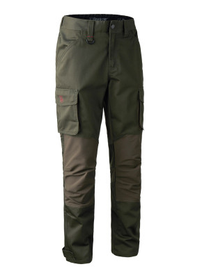kalhoty DEERHUNTER - Rogaland Stretch Trousers, barva: 353 - Adventure Green (3771)
