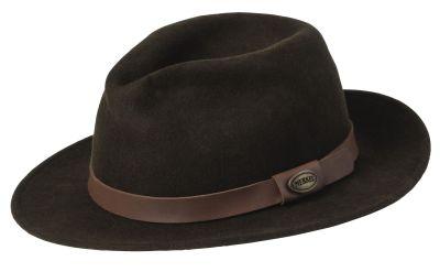 klobouk Merkel hnědý