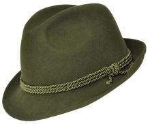 klobouk WERRA - (0902) Hubert (bez zl.šišek), 100% vlněná plsť, vel. 53-61