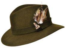 klobouk WERRA - (0911) Athos, 100% vlněná plsť, vel. 54-60