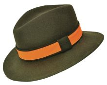 klobouk WERRA - (0917) Egon, 100% vlněná plsť, klobouk do kapsy, vel. 54-61