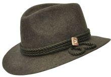 klobouk WERRA - (0926) Evžen, nátylník, 100% vlněná plsť, klobouk do kapsy, vel. 54-61