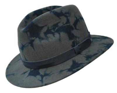 klobouk WERRA - (0936) Merlin Camouflage, 100% bavlněná plsť, vel. 55-60