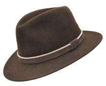 klobouk Werra - (0941) Alvin, 100% vlněná plsť, vel. 55-61