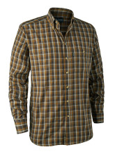 košile DEERHUNTER - Chris Shirt, 599 - Brown Checked (8911)