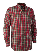košile DEERHUNTER - Chris Shirt, barva: 499 - Red Checked (8911)