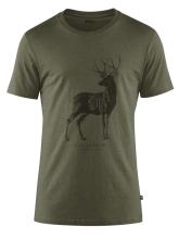 košile FJÄLLRÄVEN - Canada Deer Print T-Shirt W (89879) kr. rukáv, barva 246