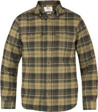 košile FJÄLLRÄVEN - Singi Heavy Flannel Shirt (81373), flanelová, barva 620 - Green