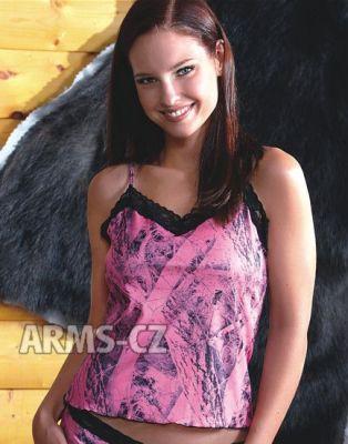 košilka Wilderness - NN Pink Lace Camisole