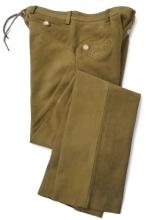 kožené kalhoty FUENTE - světle hnědé (234BUCL)
