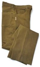 kožené kalhoty Fuente - světle hnědé (501BUCL)