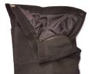 tmavě hnědé kalhoty Fuente (501BUBR)