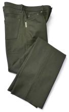 kožené kalhoty Fuente - zelené (501BUOL)
