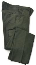 kožené kalhoty Fuente - zelené (504BUOL)