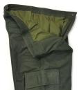 zelené kalhoty s kapsami Fuente (504BUOL)