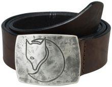 kožený opasek FJÄLLRÄVEN - Murena Silver Belt (77032), barva 250 - Leather Brown