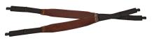 kšandy NIGGELOH - LUX, s neoprenem, lodenové, hnědé (1611 00001)