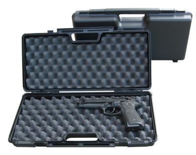 plastový kufr Negrini na pistoli spříslušenstvím mod.2016 SEC