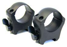montáž MAK milmont - 2-dílná, kroužky 30mm, na weaver lištu (5850-3000)