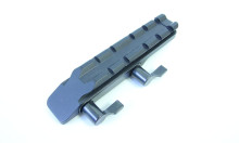 montáž MAK- rychloupínací pro šínu 14mm, nahoře s lištou Weaver (5052-5000)