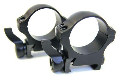 montáž RECKNAGEL - 2-dílná pro lištu weaver, kroužky 30mm, 9,5mm vysoká (57530-0951)