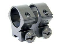 montáž REX - (8104) hliníková bez podhledu (25mm) - 2dílná, 11-12mm rybina