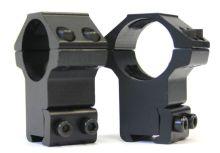 montáž REX - (8111) hliníková bez podhledu (25mm) - 2dílná, 11-12mm rybina, vysoká, zesílená