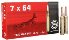 náboj GECO - 7x64 *TM 10,7g. (poloplášť)