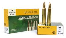 náboj SB 5,6x50 R Magnum 2902 FMJ 3,24g