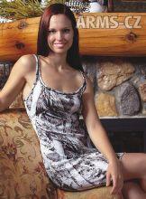 noční košilka - domácí šaty Wilderness - NN Snow Tank Nightgown (604649)