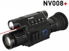noční vidění PARD - NV008+ IR přísvit, montáž