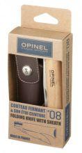 nůž OPINEL - *001089* No.08 VRI Inox + pouzdro