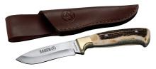 nůž Sauer Hirschhornmesser s koženým pouzdrem