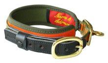 obojek NIGGELOH - Collar DeLuxe, oranžovo-zelený