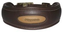 obojek NIGGELOH - Collar Premium, hnědý