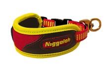obojek NIGGELOH - Trail na stopování, žluto-oranžový