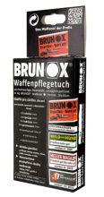 olejová útěrka BRUNOX - na čištění zbraní (18x20cm), 5ks v balení (cena za balení)