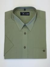 pánská košile Luko (024172) - světle zelená s krátkým rukávem