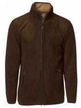 pánský pulover CHEVALIER - Belcher Fleece Cardigen, fleecový pulover/mikina, hnědý (5469B)
