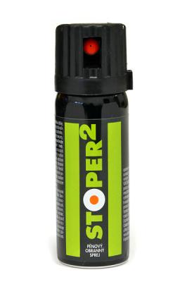 Pepřový obranný spray STOPER 2 (50ml) - pěna