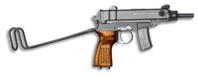 pistole samonabíjecí CZ Skorpion 61 S
