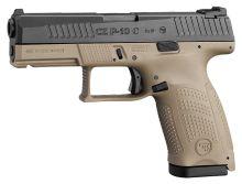 pistole samonabíjecí CZ P-10 C, FDE, r. 9 mm Luger