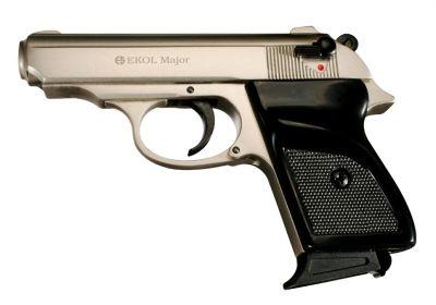plynová pistole EKOL Major M88 ráže 9P.A. - barva Satina