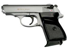 plynová pistole EKOL - Major M 88, r.9 P.A. White (matný chrom)